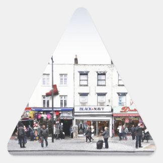 London Camden Town Market UK Triangle Sticker