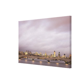 London Stretched Canvas Prints