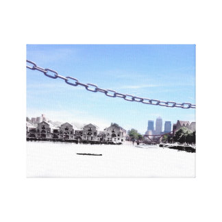 London canvas gallery wrapped canvas
