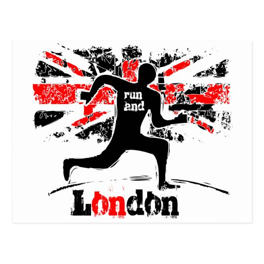 London capital city, - United Kingdom, 2012. Postcard