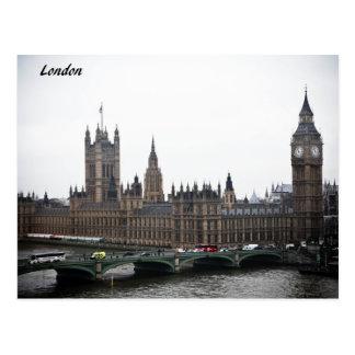 London Cards Postcard