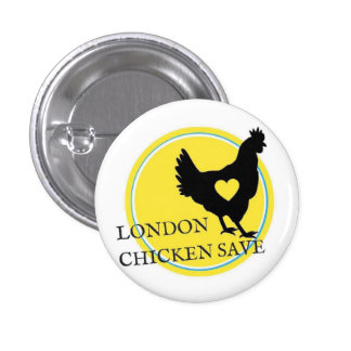 LONDON CHICKEN SAVE LOGO BUTTON