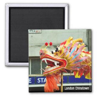 London, Chinatown - Dragon No.2 (Fridge Magnet) Magnet