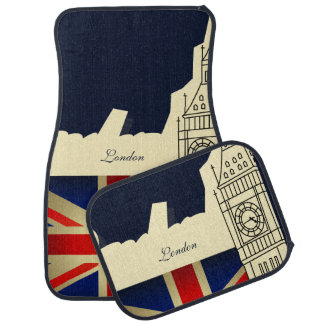 London City Big Ben Union Jack Flag Car Mat