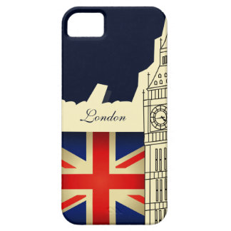 London City Big Ben Union Jack Flag Case For The iPhone 5