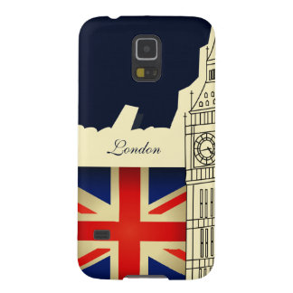 London City Big Ben Union Jack Flag Samsung S3 Cases For Galaxy S5
