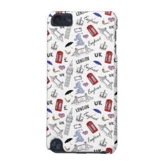 London City Doodles Pattern iPod Touch 5G Cover