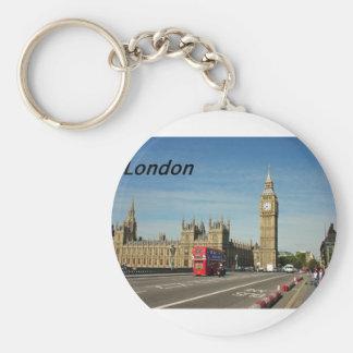 london-city-[kan.k].JPG Basic Round Button Key Ring