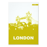 London City Poster Personalised Invite