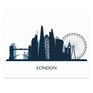 London City Skyline Postcard