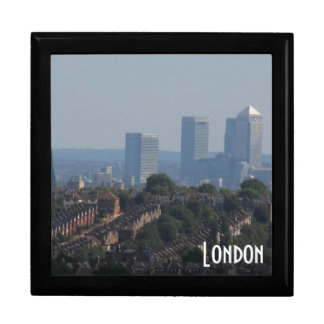 London Cityscape - Canary Wharf photo Gift Box