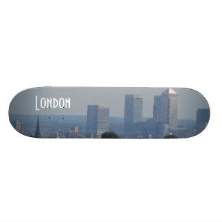London Cityscape - Canary Wharf photo Skate Decks