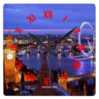 london clock by highsaltire