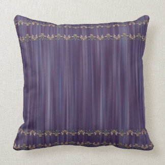 London Cobalt Blue Throw Pillow