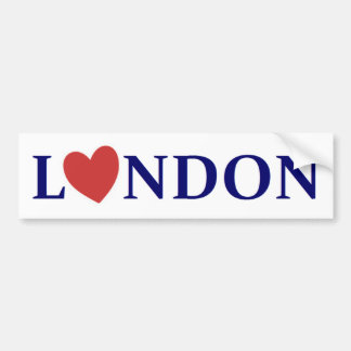 London coils bumper sticker