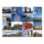 London collage postcard
