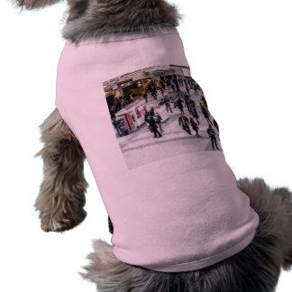 London Commuter Art Sleeveless Dog Shirt