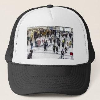 London Commuter Art Trucker Hat