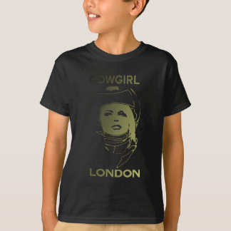 London Cowgirl Gold T-Shirt