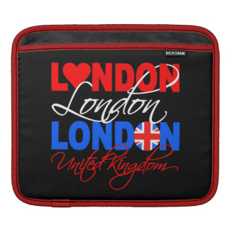 London custom iPad / laptop sleeve