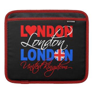 London custom iPad / laptop sleeve Sleeves For iPads