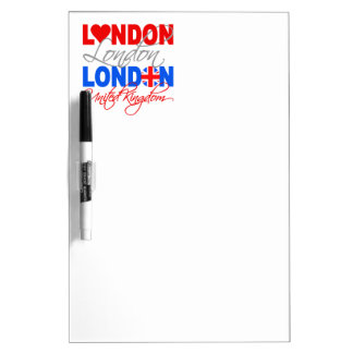 London custom message board