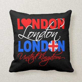 London custom throw pillow