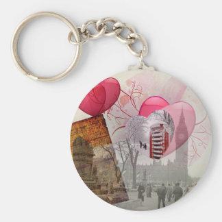London designs key chains