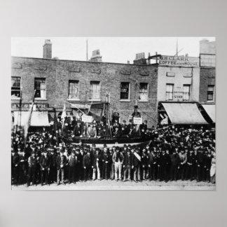 London Dock Strike 1889 2 Poster