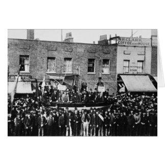 London Dock Strike, 1889 Card