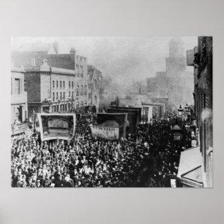 London Dock Strike, 1889 Poster