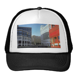 London Docklands office buildings, England, U.K. Trucker Hats