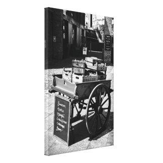 London Dockyard Barrow Gallery Wrapped Canvas