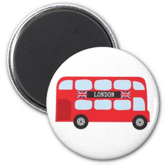 London double-decker bus magnets