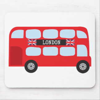 London double-decker bus mouse mat
