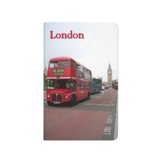 London Double-decker Bus Personalized Journal