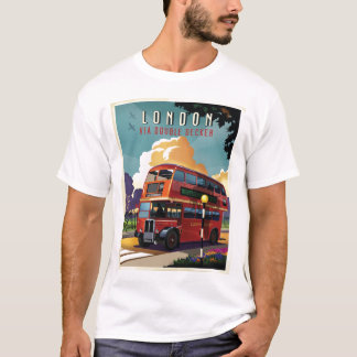 London double decker bus T-Shirt