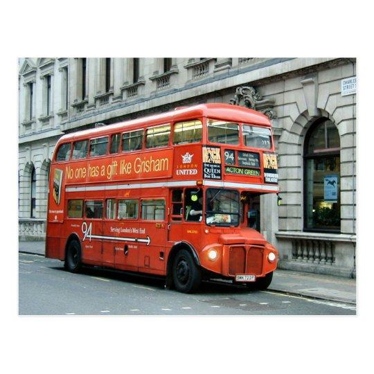 London Doubledecker bus Postcard