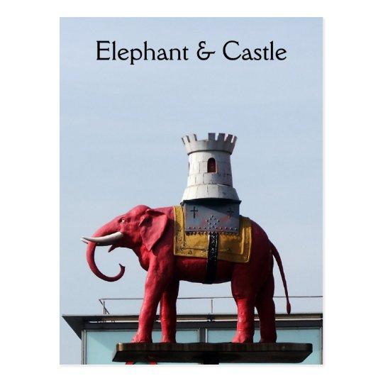 London Elephant & Castle Postcard