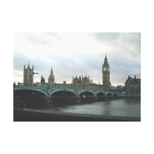 London, England Stretched Canvas Prints