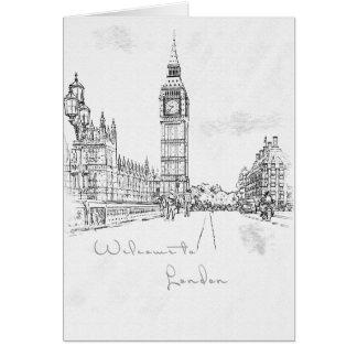 London, England Card