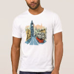 London England city scape guys tee