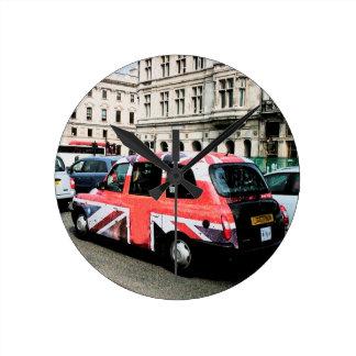 London England Round Clock
