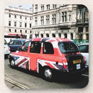 London England Beverage Coaster