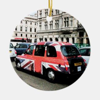 London England Round Ceramic Decoration