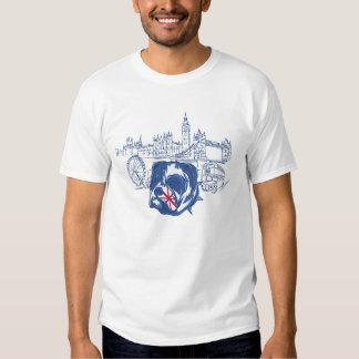 London England English Bulldog TShirt