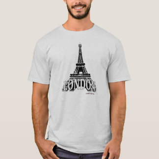 London England featuring the Eiffel Tower T-Shirt