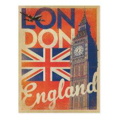 London, England - Flag Postcard at Zazzle
