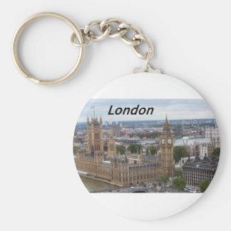 London-England-[kan.k].JPG Basic Round Button Key Ring