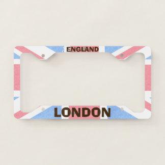 London England License Plate Frame